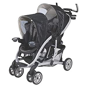 Amazon.com : Graco Quattro Tour Duo Flint Double Stroller