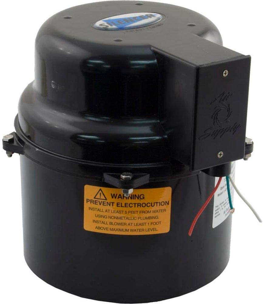 Air Supply Of The Future, Inc 1-1/2HP Silencer Blower, 120V