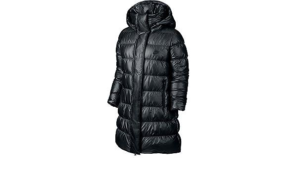 ba0134f5bf Amazon.com  Nike Women s Down Fill Hooded Parka Jacket (SMALL)  Sports    Outdoors