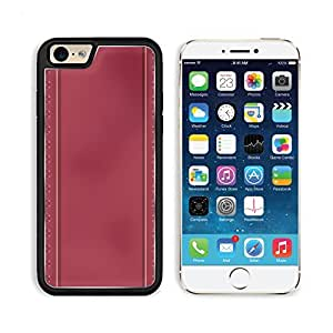 Heart Pattern Background In Dark Pink 3DCom iPhone 6 Cover Premium Aluminium Design TPU Case Open Ports Customized Made to Order