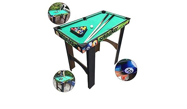 Mesa de billar Mini mesas de Billar Niños Americanos Negros 8 De ...