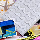 Photo Corner Stickers - Corner Sticker For Small Picture - 24 Pcs/lot Vintage Corner Craft Paper Stickers for Photo Albums Frame Decoration Scrapbooking - Corner Picture Stickers (white)