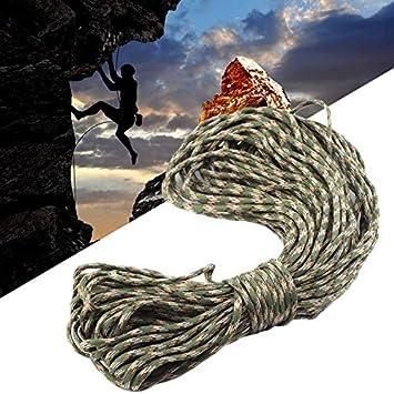 10 Colores 550 Cuerda de paracaídas Cuerda de Emergencia Mil ...