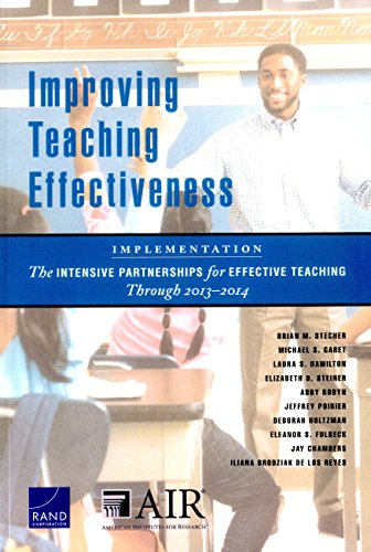 Improving Teaching Effectiveness: Implementation: The Intensive Partnerships for Effective Teaching Through 20132014