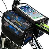 George Jimmy Cycling Pannier Saddle Bag Frame Bike Bag Bike Handlebar Bags-A2