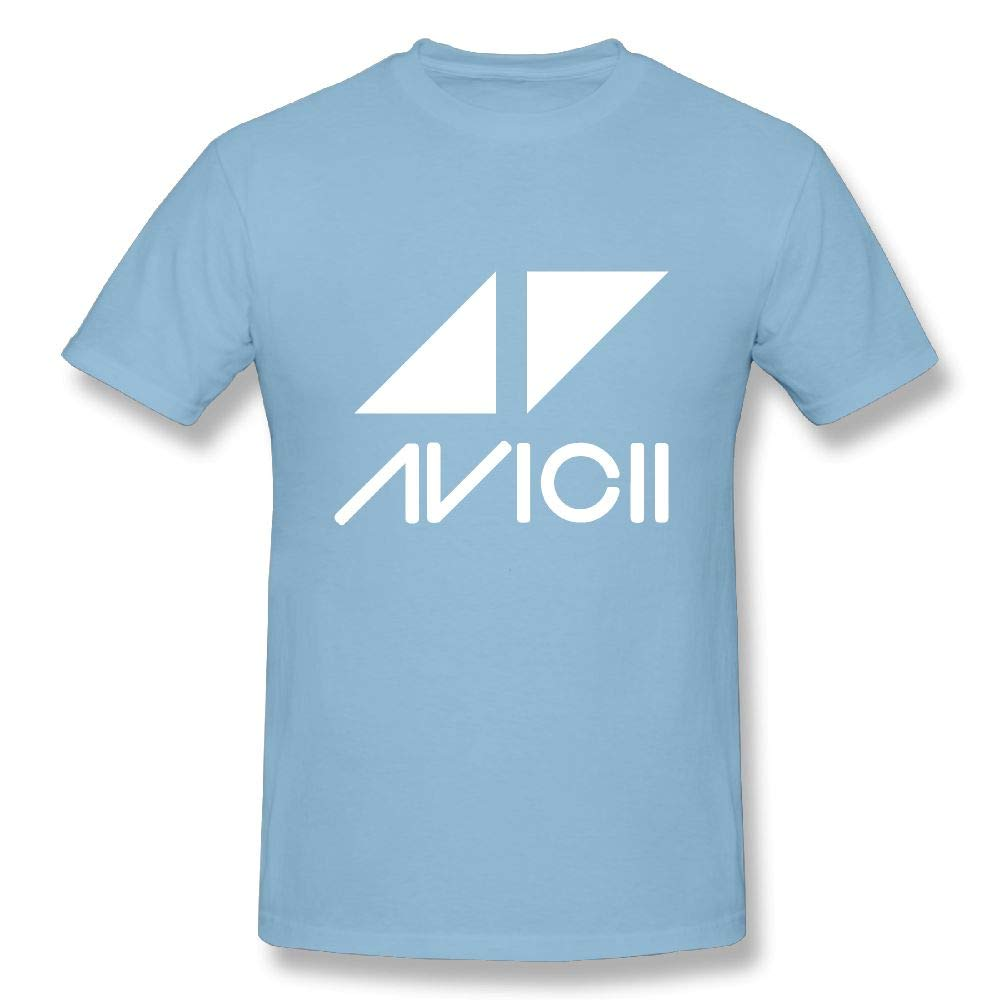 Connor S Interesting Avicii Logo Cool Running Black Tee Short Sleeve Shirts