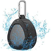 Bluetooth Speakers, Nillkin S1 PlayVox Bluetooth 4.0 Portable Outdoor Wireless Speaker with NFC Compatibility, Built-in Microphone, IPX4 Waterproof - Black