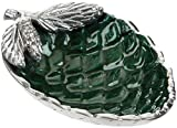 "Julia Knight Pine Cone 5.75"" Bowl, One Size, Emerald, Green"