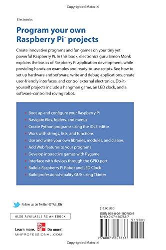 create python application for raspberry pi