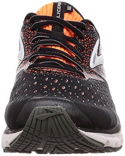 069 Glycerin Brooks Running black Da Multicolore grey Uomo Scarpe orange 16 ZZxwPqdrv