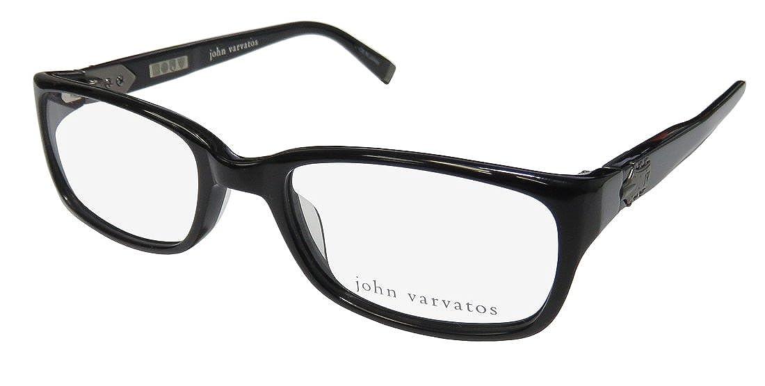 John Varvatos V344 Mens Designer Full-rim Premium Ultimate Comfort Optical Eyeglasses//Eyewear