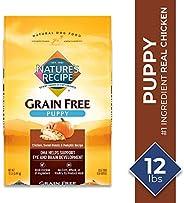 Nature's Recipe Grain Free Puppy Dry Dog Food Chicken, Sweet Potato & Pumpkin