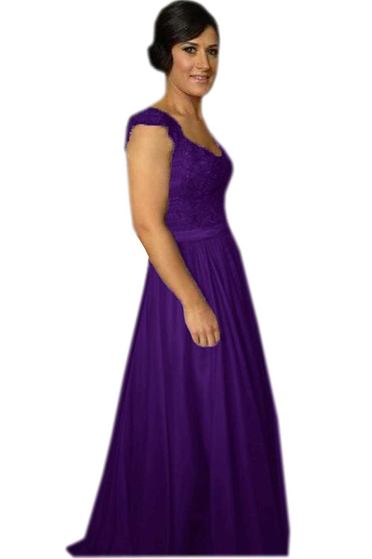 Miss-Meg Womens Sweetheart Long Chiffon Cheap Formal Bridesmaid Dress Under 50 at Amazon Womens Clothing store: