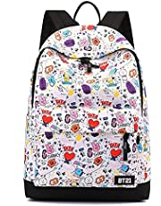 Casual Daypack Backpack, Bulletproof Youth Group Sports and Leisure Backpack, Character Fashion Cute Campus Comic Trend, Suitable for Students/Male/Female Gift Laptop Backpack TXOZ