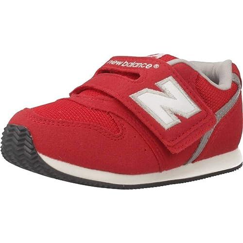 Zapatillas para niño, Color Rojo, Marca NEW BALANCE, Modelo Zapatillas para Niño NEW BALANCE IV996 CRD Rojo: Amazon.es: Zapatos y complementos