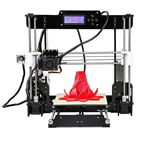 3D Printer Win-tinten Update Desktop A8 3D Printer, DIY 3D Printer Kits High Accuracy Self-Assembly DIY Personal Portability 3D-Printers 220 220 240mm Print Size (A8 Wooden-3D Printer) reviews
