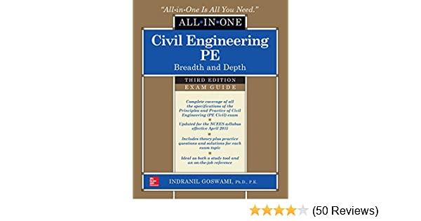 Civil engineering all in one pe exam guide breadth and depth third civil engineering all in one pe exam guide breadth and depth third edition indranil goswami ebook amazon fandeluxe Images