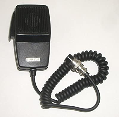MIC / Microphone for 4 pin Cobra / Uniden CB Radio - Workman DM507-4 by Workman