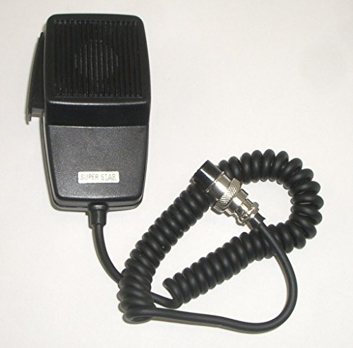 4 Pin Cb Microphone - MIC / Microphone for 4 pin Cobra / Uniden CB Radio - Workman DM507-4