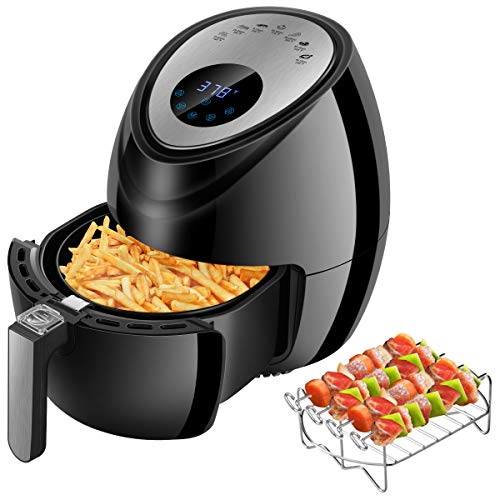CUSINAID Digital Deep Air Fryer Cooker - 1500W (3.8QT)