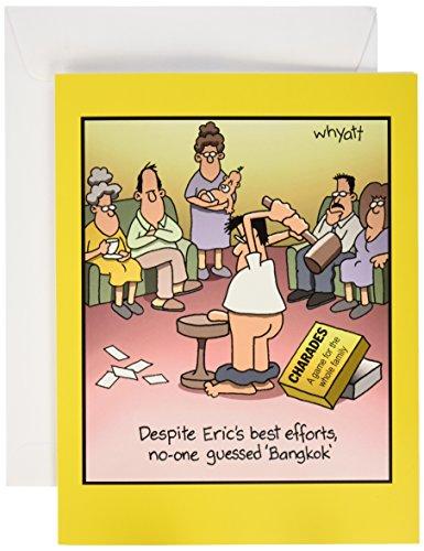 J8300 Jumbo Funny Birthday Card