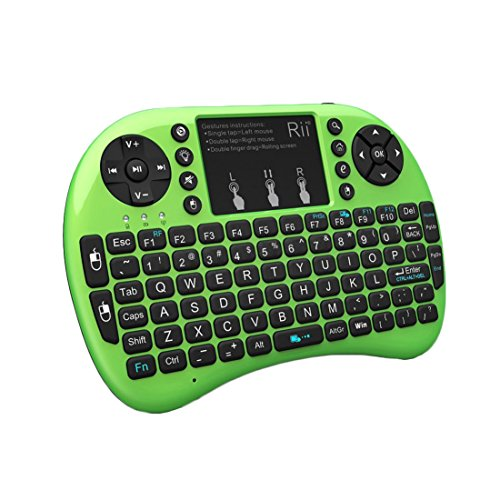 Rii 2.4GHz Mini Wireless Keyboard with Touchpad&QWERTY Keyboard
