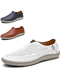 Ailisen Summer Breathable Causal Men Loafers Driving Flats Shoes