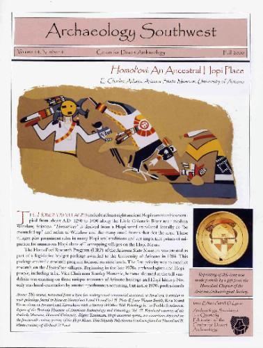 Homol'ovi: An Ancestral Hopi Place (Archaeology Southwest, Volume 14, #4) ebook