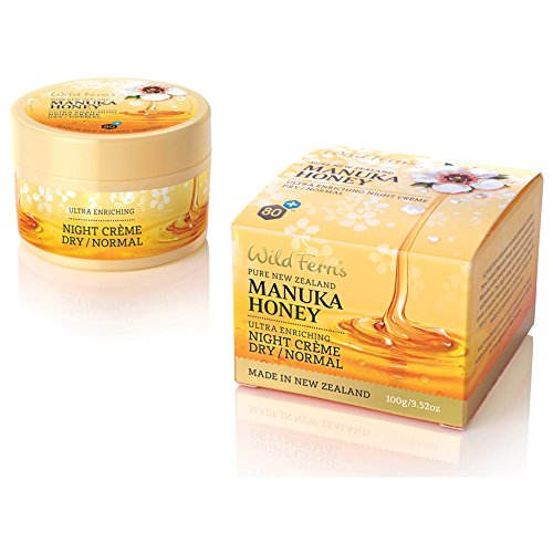 Wild Ferns Manuka Honey Night Cream Dry to Normal Skin Manuka Honey Night Cream