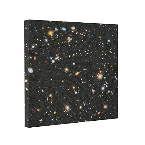 Kappies Nip Gallery Wrapped Canvas Hubble Ultra Deep Field Canvas Picture Prints