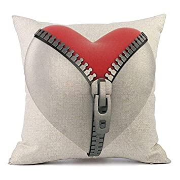 Amazon.com: Valentines Day Pillow Covers Cajas De Amor ...