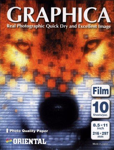 (Oriental Graphica Pro Hi-Gloss White Inkjet Film 24