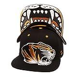 NCAA Missouri Tigers Men's The Menace Snapback Hat, Adjustable, Black