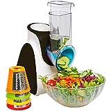 Secura Electric Salad Maker Food Processor (Red)