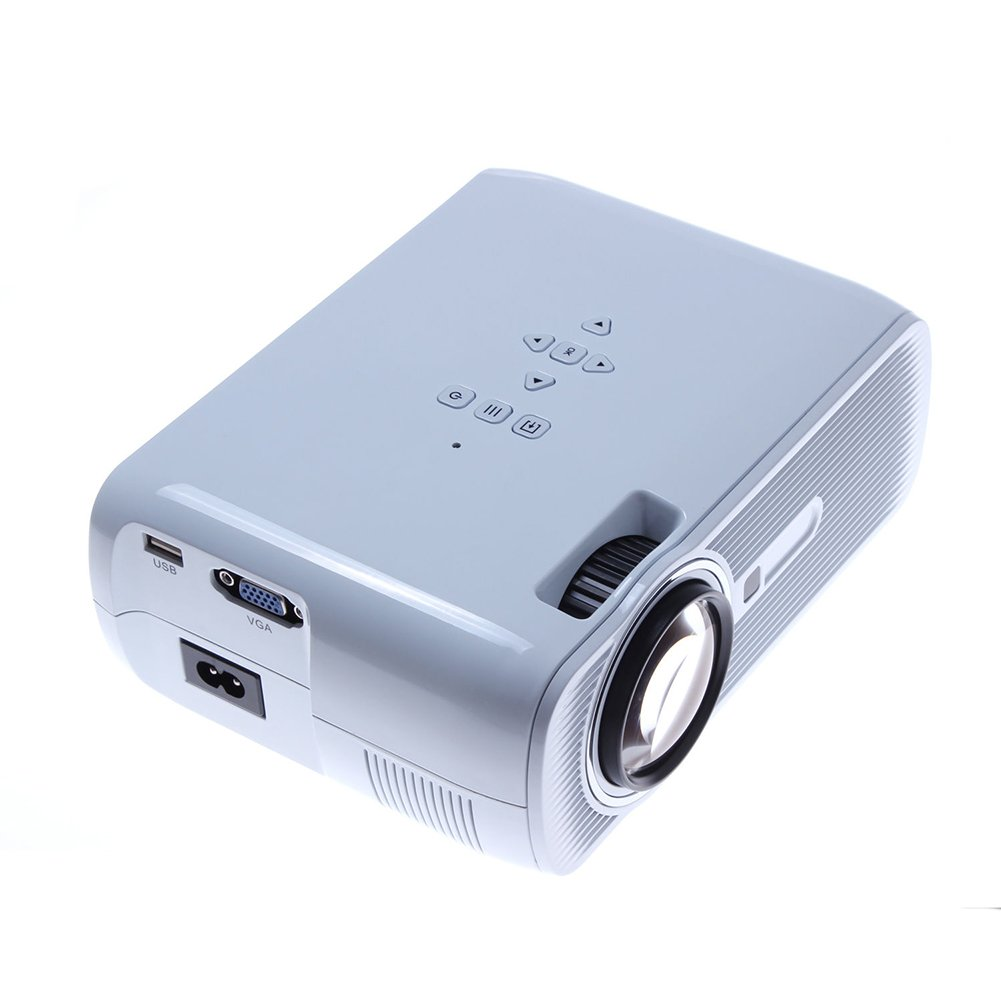 LED Projector - SODIAL(R)3000 Lumens HD 1080P 3LCD/LED Video Projector Home Theater Multimedia HDMI TV 3D 082156