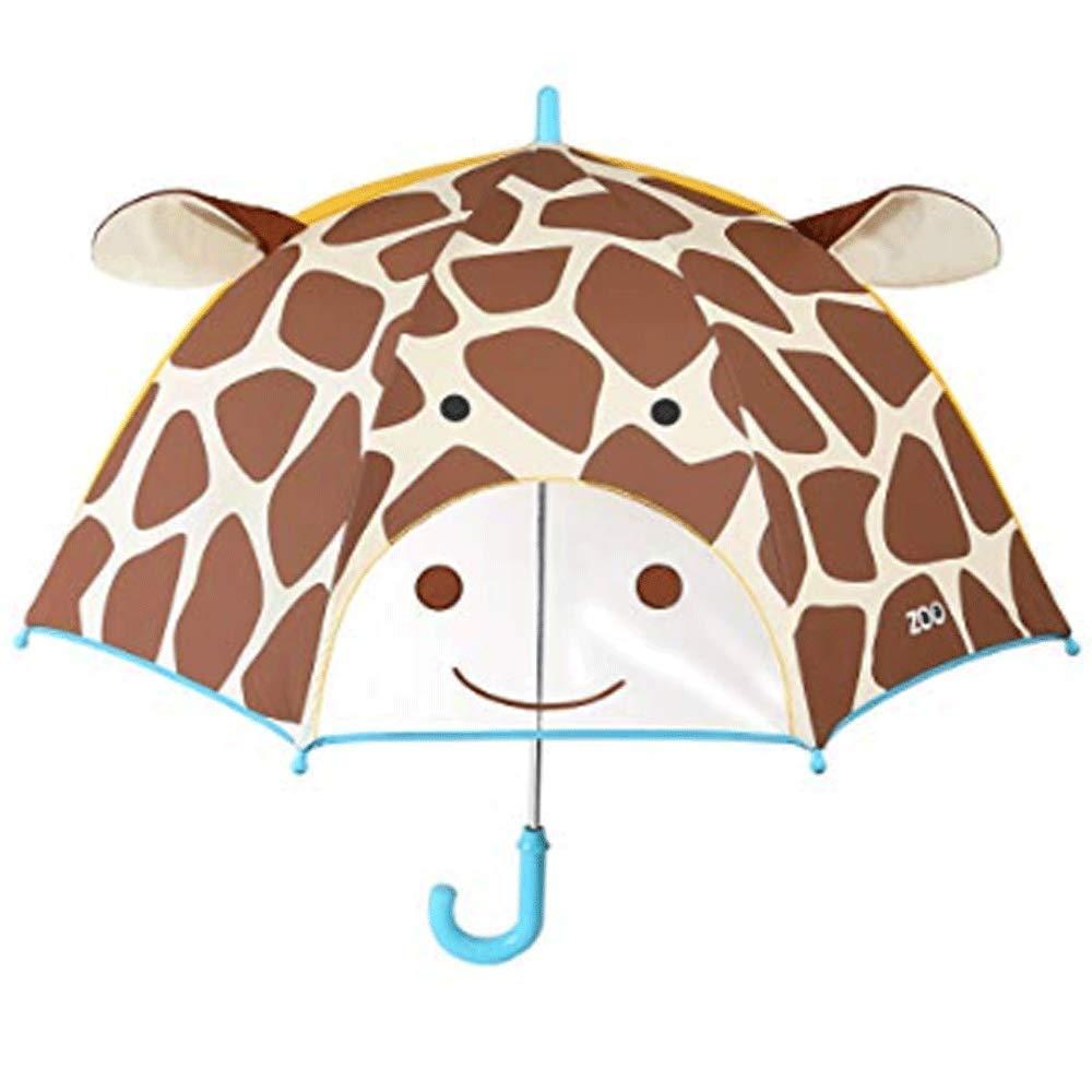 Qianming Kid Children Cute Fashion Unbrella Boys Girls Giraffe