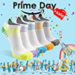 Low Cut Running Socks 6 Pack, MEIKAN Athletic Performance Comfort No Show Tab Socks for Men Women