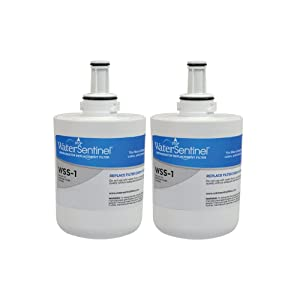 WaterSentinel WSS-1 Refrigerator Replacement Filter: Fits Samsung HAF-CU1 Filters (2-Pack)