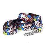 Yellow Dog Design American Dream Dog Leash 3/8'' Wide And 5' (60'') Long, X-Large