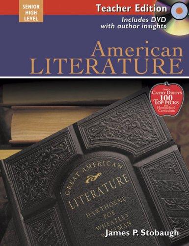 American Literature Teacher Text: Encouraging Thoughtful Christians to be World changers (Broadman & Holman Literatu