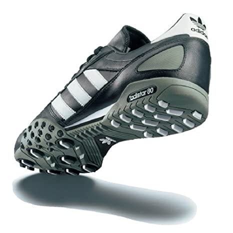 adidas Schuh Männer Adistar 80,10,5, schwarzweiß: