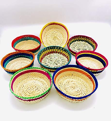 Cinco De Mayo Centerpiece Ideas - Tortilleros De Palma | Handcrafted Tortilla