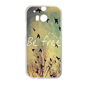 Be free Phone Case for HTC One M8 by ruishername