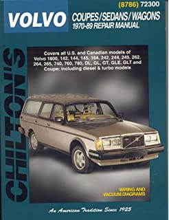 Volvo Coupes, Sedans, and Wagons, 1970-89 (Chiltons Total Car Care