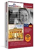 Sprachenlernen24.de Deutsch für Rumänen Basis PC CD-ROM: Lernsoftware auf CD-ROM für Windows/Linux/Mac OS X