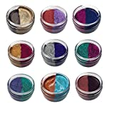 Cosmic Shimmer Glitter Kiss Duo - Set of 9 Colours
