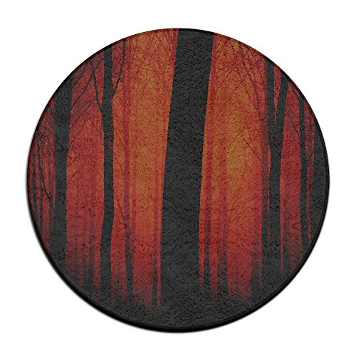 - Sppmet Ultra Soft Coral Fleece Round Bath Mat Or Rug Place in Front of Shower, Vanity, Bath Tub, Sink, and Toilet, 23.6