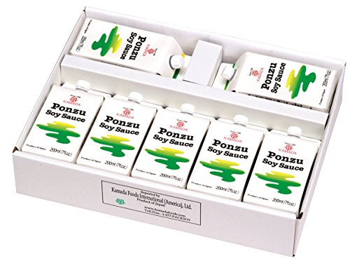Kamada Ponzu Soy Sauce 7 cartons (200ml each)