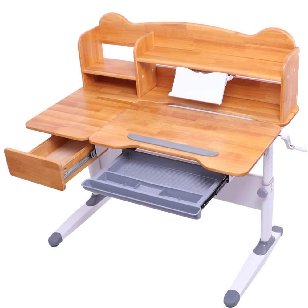 Escritorio para Niños Mesa inclinable y silla Mesa de estudio de ...