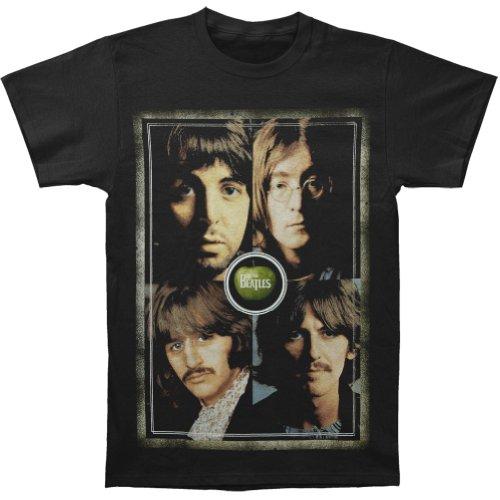 Beatles Men's Beatles Faces T-Shirt XX-Large Black ()